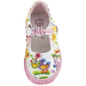 lelli kelly pelican zoo collection canvas shoes