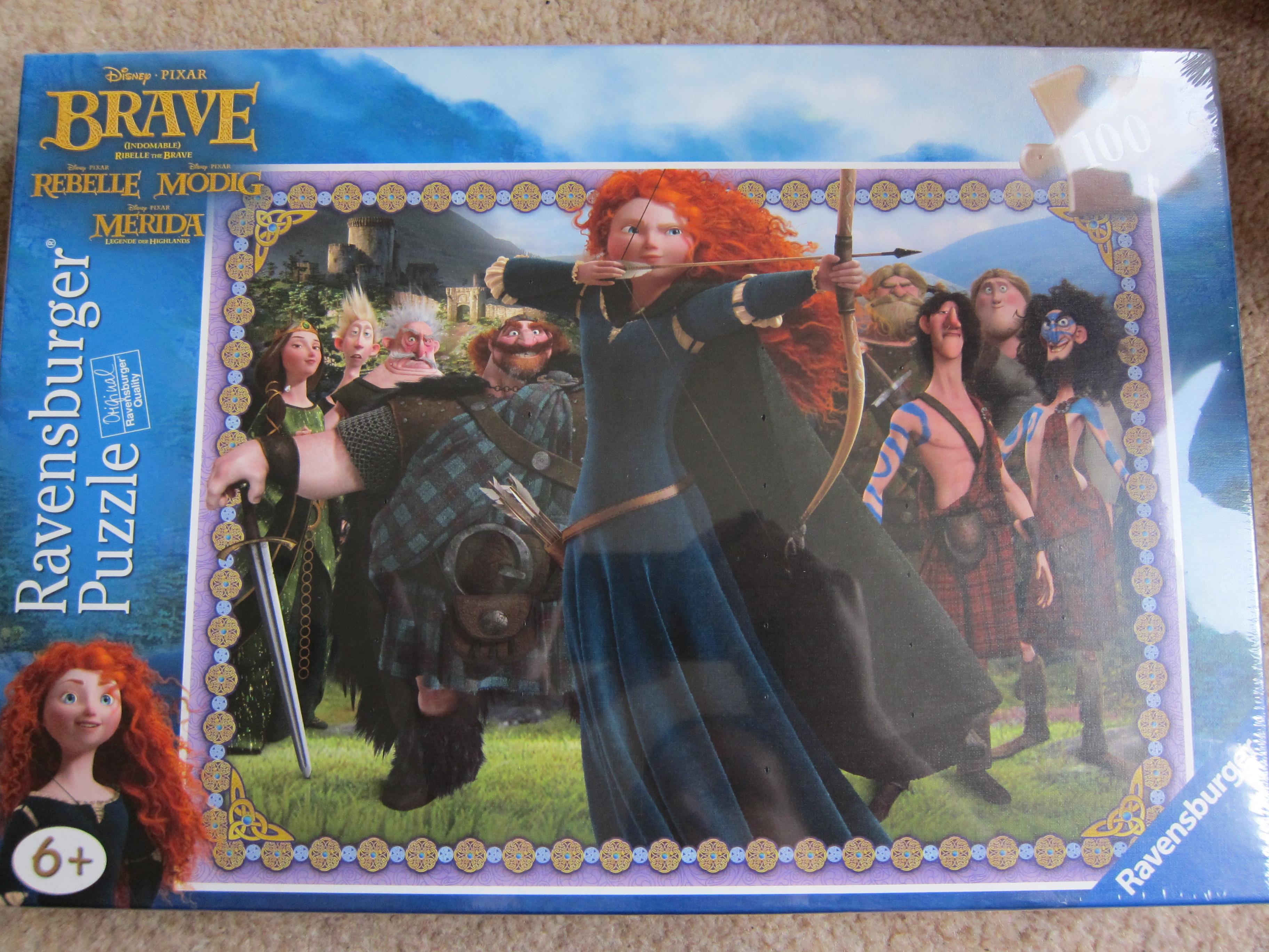 theme of brave