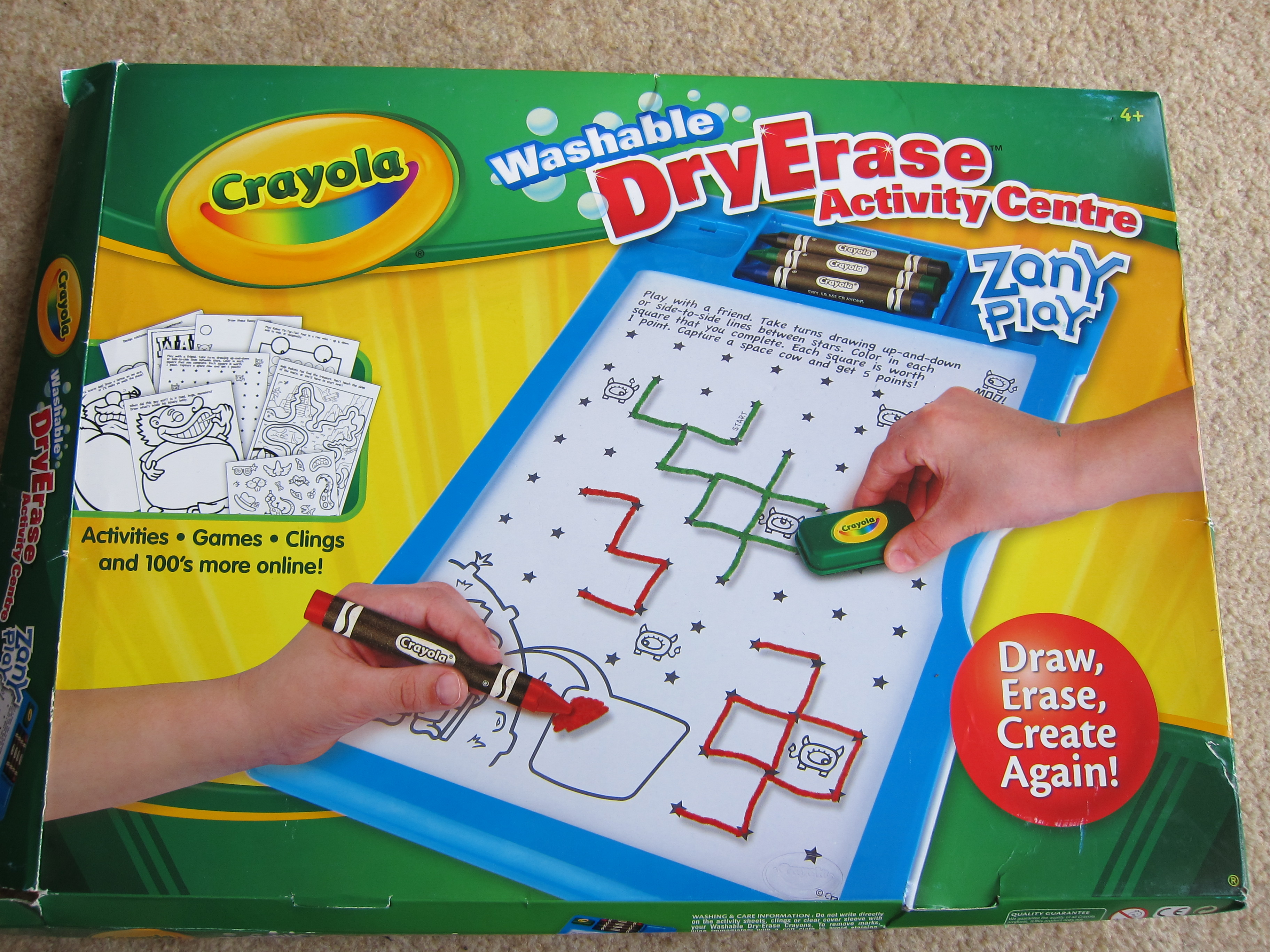 Crayola Dry Erase Activity Centre Review | Blog by Baby