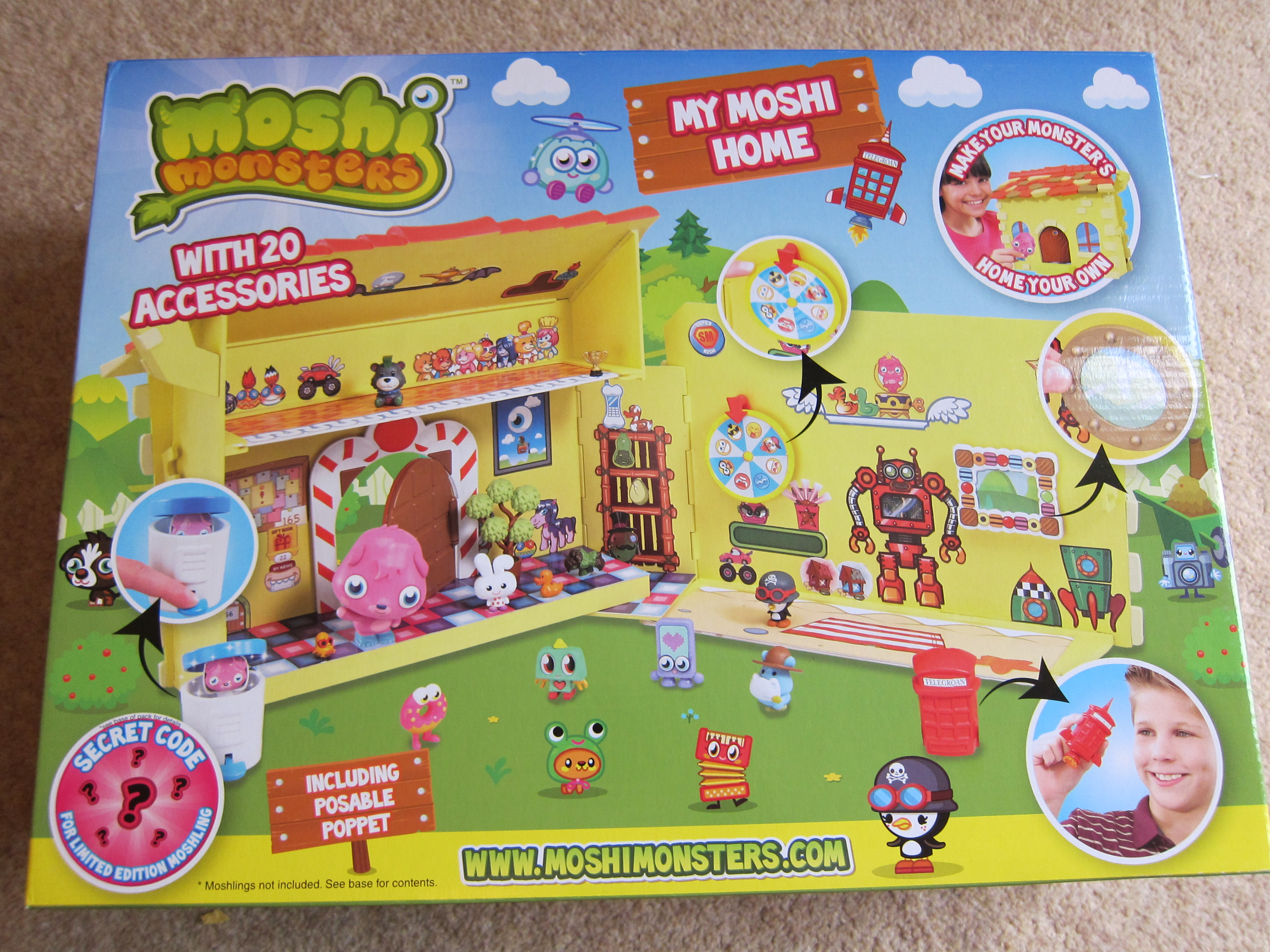 Toys R Us Toyologist Review Moshi Monsters My Moshi Home