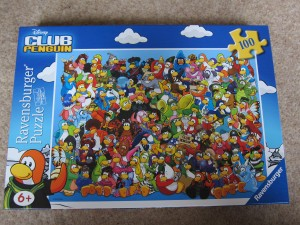 club penguin puzzle 100 piece