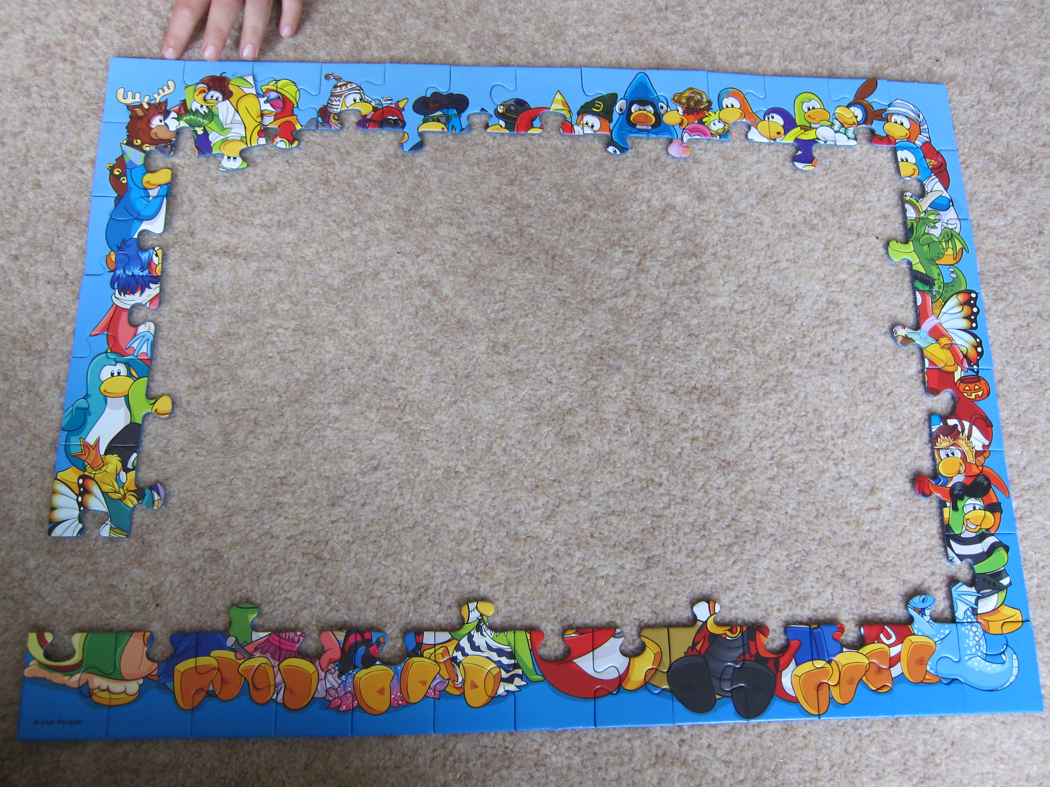 Ravensburger Club Penguin 100 piece jigsaw review | Blog by Baby