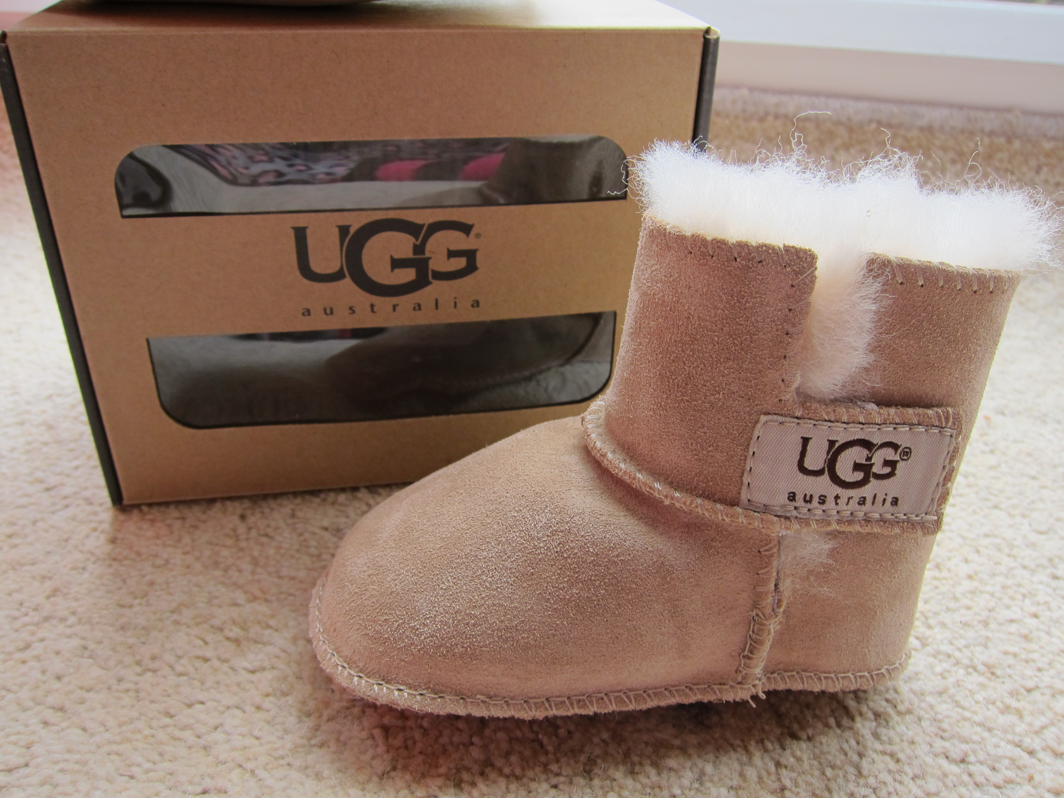 quality you get from full sized UGG   s  only in a teeny tiny sizeUggs Boots For Babies