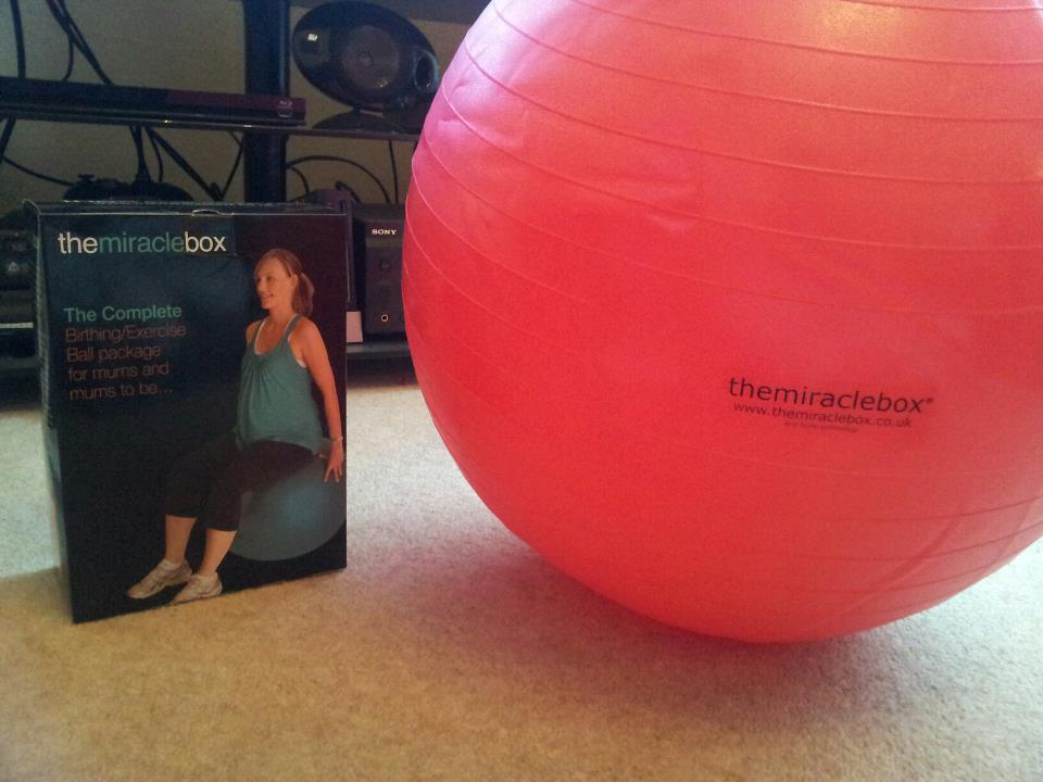 miracle box birthing ball