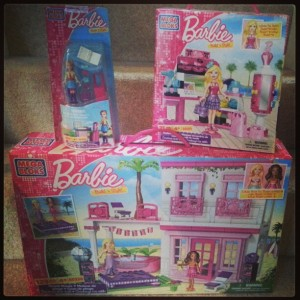 barbie megablocks review