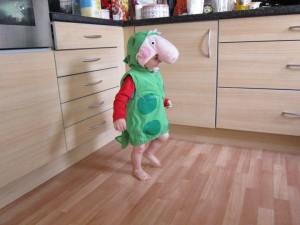 george pig dinosaur costume