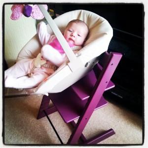 stokke tripp trapp purple newborn seat