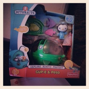 octonauts gup e launch