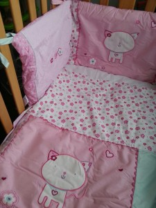 bedding bale cot