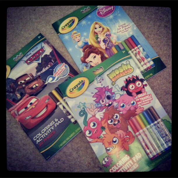 crayola colouring and activity books review blog by baby
