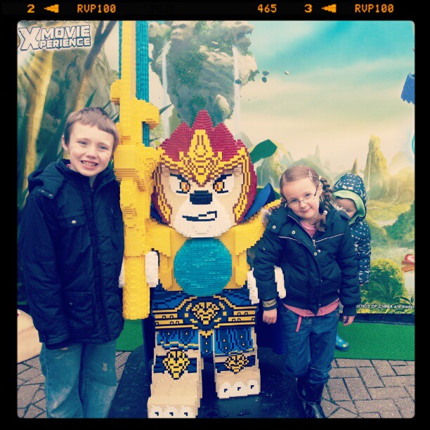 legoland chima 4d movie