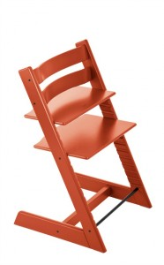 new orange tripp trapp stokke