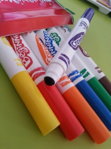 crayola my first pens