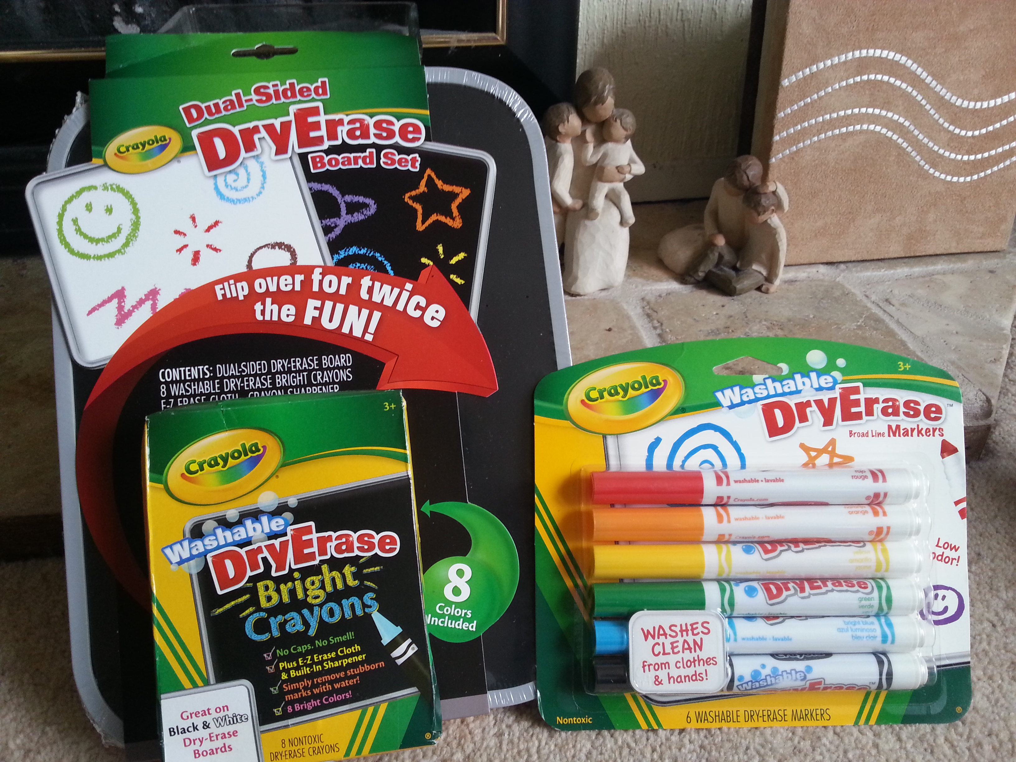 crayola dual sided dry erase board review blog by baby
