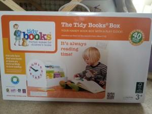 tidy books book box box