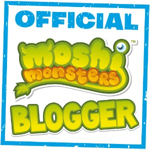 Official Moshi Monsters Blogger Badge 300
