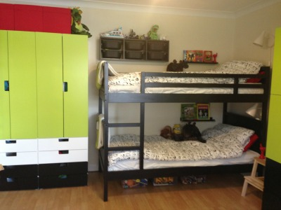 Cute ikea makeover finished