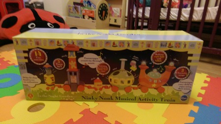 Ninky Nonk Train Toy Review