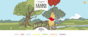 winnie pooh colours