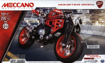 meccano ducati monster review pictures