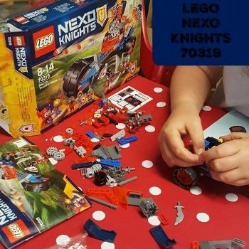 nexo knights macy's thunder mace lego 70319