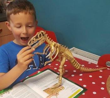 prehistoric t rex