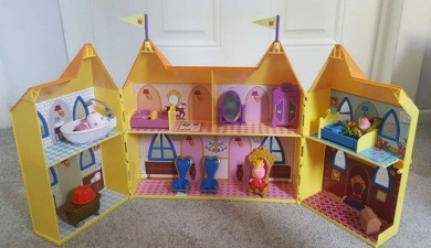 princess peppa pig castle
