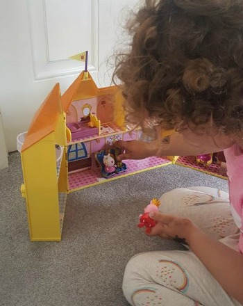 princess peppa pig palace toy