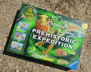 ravensburger science x prehistoric expedition set