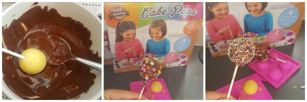 Decorating Cake Pops Not Using Candy Melts