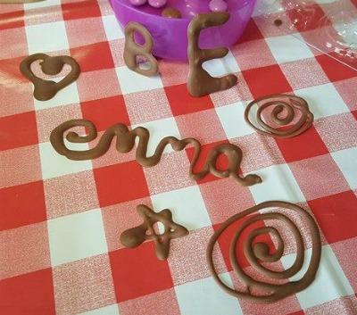 chocolate-writing