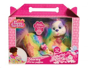 JPL42292 Puppy Surprise Plush Stormy Tie Dye Wave 7 Pack
