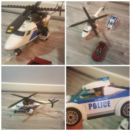 city helicopter police chase