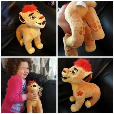lion guard soft plush collage