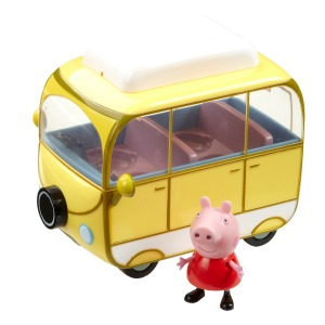 peppa pig campervan review