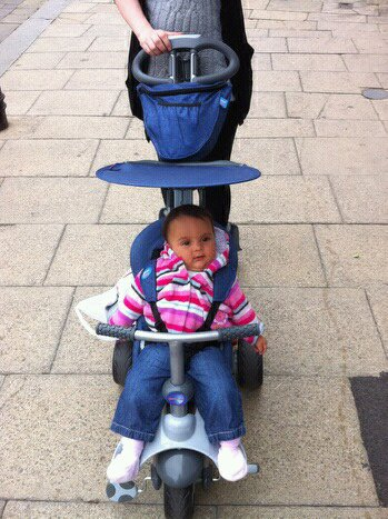 ... canopy has UV protection which is reassuring to know as a parent for when you are out and about. The Recliner Stroller also comes with a rain cover ...  sc 1 st  Blog by Baby & The Smart Trike Recliner Stroller Review with 6 month old Madison ... islam-shia.org