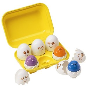 Alternative easter gift guide for babies blog by baby these were marks first ever easter present crack them open to reveal the brightly coloured press and cheep chicks its also a shape sorting game matching negle Choice Image